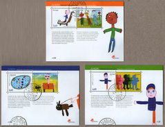 Portugal Stamps - Mundifil Block 332/33/34 Used - Timbres Oblitérés Du Portugal