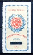 PERU    -    Cierre Oficial    -    N S Goma -            PER-7208
