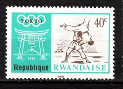 Rwanda, Judo, Jeux Olympiques De Tokyo Olympic Games, Volcan, Volcano, Porte, Gate