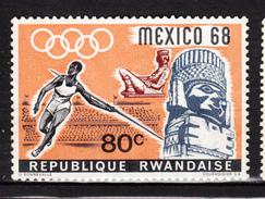 Rwanda, Jeux Olympiques De Mexico Olympic Game, Lancer Du Javelot, Athlétisme, Antiquité, Antiquity, Archéologie, Stade