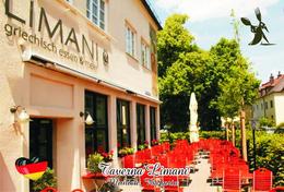 Carte Postale, Restaurants, Famous Restaurants Of  Germany, Munich (Bavaria), Taverna Limani - Restaurants