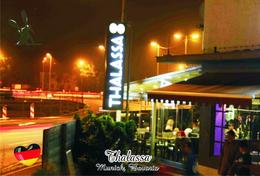 Carte Postale, Restaurants, Famous Restaurants Of  Germany, Munich (Bavaria),  Thalassa - Restaurants