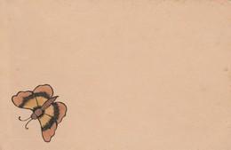 CARTOLINA PRIMA PARTE 900 - FARFALLA GIALLA (VP58 - Butterflies