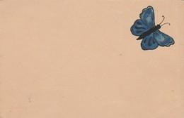 CARTOLINA PRIMA PARTE 900 - FARFALLA BLU (VP59 - Butterflies