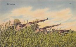 US Military: Mint Postcard Mostly WW1/2 Period - Skirmishing (T9A15) - Militaria