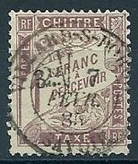 FRANCE - TAXE N° 25 Oblitéré VILLARD (SAVOIE)  -  COTE YT : 125 E - Segnatasse