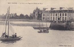 29----LOCTUDY---la Cale Et La Plage De L'hôtel Des Bains---voir 2 Scans - Loctudy