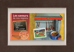 """CARNET  2010  --  Y & T  C  431  -- """"""""  LES  SAVEURS  DE  NOS  REGIONS """"""""  --  12  TIMBRES  EN  L.P.  --  NEUF. - Booklets"""