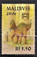 MALDIVES   1992     Préhistoriques   Iguanodon