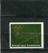 RWANDA. 1971. SCOTT 417. OLYMPIC SPORTS: HIGH JUMP