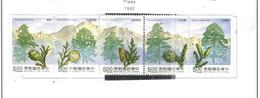 Taiwan 1992 Trees  Scott.2839/ss See Scan - 1945-... Repubblica Di Cina