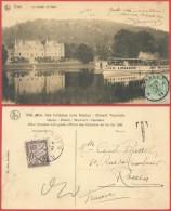 AK314 Carte Postale Taxée De Dinant à Rouen France 1911