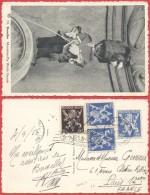 AK315 Carte Postale Musée Postale De Bruxelles Vers Paris 1956