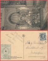AK320 Carte Postale De Borsbeek à Anvers 1927 + Vignette