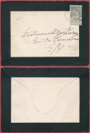 AK329 Lettre De Deuil De Wavre En Ville 1900