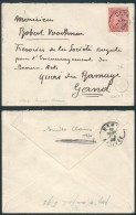 AK334 Lettre De Deynze à Gand 1902