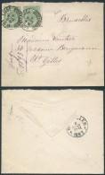 AK336 Lettre De Liège à St Gilles 1893