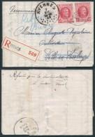 AK339 Lettre Recommandée De Braives à Avesnes 1925
