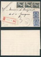 AK340 Lettre Recommandée De Liège 4 à Grivegnée 1941