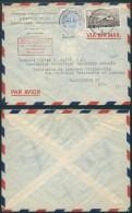 AK343 Lettre Privée De Bruxelles à Washington USA 1955