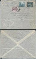 AK344 Lettre Privée De Anvers à New York 1948