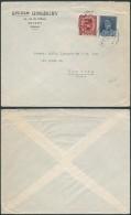 AK348 Lettre Privée De Anvers à New York 1932