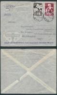 AK349 Lettre Privée De Mechelen à New York 1955