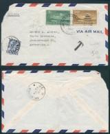 AK351 Lettre Taxée De Matanza Cuba Vers Anvers 1948