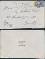 AK361 Lettre Expres De Bruxelles 4 à Binche 1930