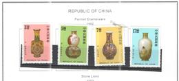 Taiwan 1992 Vasi  Scott.2848/51 See Scan - 1945-... Repubblica Di Cina