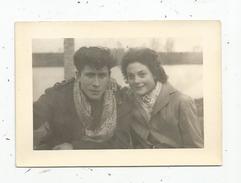 Photographie , 7.5 X 10.5 , Jeune Couple - Anonieme Personen
