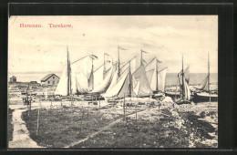 AK Torekow, Hamnen, Segelboote - Suède
