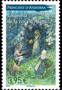 FRENCH ANDORRA 2017 The Legend Of The Cave Of Arans - Set - Andorra Francese