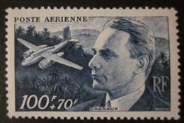 France - YT AE 22 - 1947 - Jean Dagnaux - Avion - Cocotier - Poste Aérienne