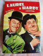 Dvd Zone 2 Laurel Et Hardy Vol. 1 : Quel Pétard / Les Rois De La Blague / Le Grand Boum Coffret 3 DVD Vostfr - Comedy