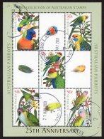 Australia 2005 Australian Parrots Special Minisheet CTO -