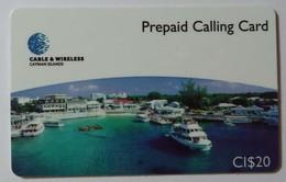 CAYMAN ISLANDS - Prepaid - CAY-P2A - CAY 02 - Georgetown Harbour - $20 - 30ex - Mint - RRR - Cayman Islands