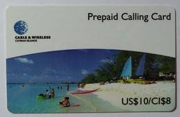 CAYMAN ISLANDS - Prepaid - CAY-P4 - CAY 04 - Seven Mile Beach - $10 - 10000ex - Mint - Cayman Islands