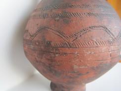 Cruche En Terre Cuite - à Identifier - Art Africain