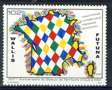 WF 1991 N. 414  Territpri D'oltre Mare MNH Cat. € 3.10 - Wallis E Futuna