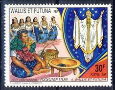 WF 1991 N. 415 Festa Dell'Assunzione MNH Cat. € 1.30 - Wallis E Futuna