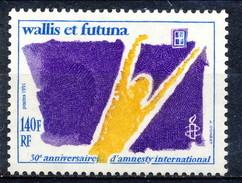 WF 1991 N. 417  Amnesty Onternational MNH Cat. € 4.60 - Wallis E Futuna