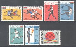 Ghana 1964 - Michel 188 - 194 **