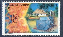 WF 1991 N. 419  Cooperazione Economica MNH Cat. € 0.40 - Wallis E Futuna