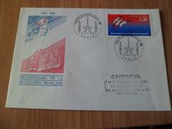 Pli Circulé Illustré Paris Le 10/07/1989 Philexfrance Exposition  Espace Philexfrance  Cachets TB Le N° 2560 TB