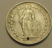 1952 - Suisse - Switzerland - 1/2 FRANC (B), Argent, Silver, KM 23 - Suisse
