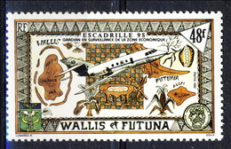 WF 1992 N. 424  Squadriglia Aerea Di Sorveglianza MNH Cat. € 1.80 - Wallis E Futuna