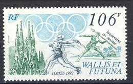 WF 1992 N. 427  Lancio Del Giavellotto MNH Cat. € 3.40 - Wallis E Futuna