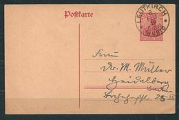 Postkarte - Ganzsache, Stempel LEUTKIRCH  (0268)