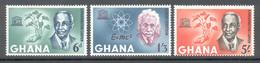 Ghana 1964 - Michel 195 - 197 **
